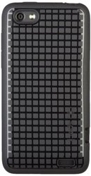 Speck PixelSkin HD Rubberized Cell Phone Case for HTC One V - Black