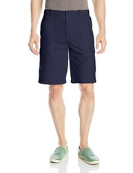 IZOD Men's Solid Ripstop Cargo Short - Midnight - Size: 36W