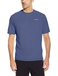 White Sierra Men's Techno Short-Sleeve Tee - Blue Indigo - Size: Large