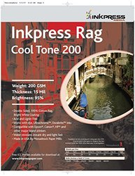 Inkpress Media 200GSM 15Mil - 95% Double Sided Photo Paper