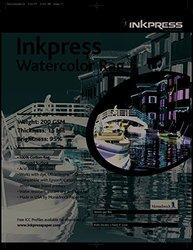 INKPRESS MEDIA 200 GSM, 15 Mil, 95 Percent Bright, Single Sided Photo Paper (#LT111425)
