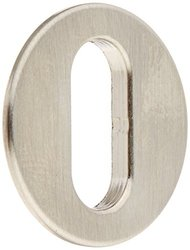 Rohl Cisal Wave Door Hole Cover Plate Only Lever Attachment -Satin Nickel