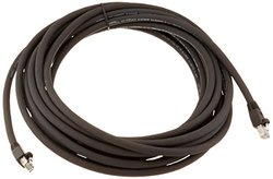 Hubbell CAT6 RJ45-RJ45 25'Long HI-IMPACT Patch Cord - Black (HI625AA)