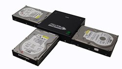 Spartan HD Mini Compact Portable 1-2 Hard Drive Clone Copy Duplicator (Data/System Files Storage Transfer) DM-HS0-3H2BS
