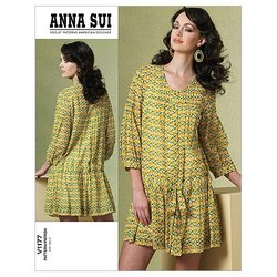 Misses/Misses' Petite Dress and Slip - FF (16 - 18 - 20 - 22) Pattern