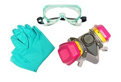 UltraTech 4105 Personal Protective Equipment Kit, For Use with Ultra-Ever Dry (Not Included)