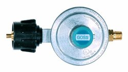 "Goss T-Block Inlet Low Pressure Propane Regulator with 3/8"" Flare Outlet"