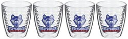 Tervis West Georgia University Emblem Tumbler (Set of 4), 12 oz, Clear