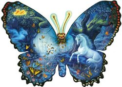 Fantasy Butterfly Shaped 1000