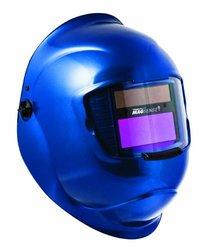 Sellstrom 41340-611 Galaxy Welding Helmet with 27611 Variable Shade, 9-13 Auto-Darkening Filter, 90x110mm,  Blue
