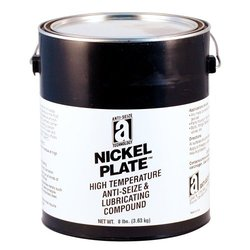 NICKEL PLATE 35030 Anti-Seize Compound with Graphite in a Non Melting Carrier, 1 Gallons, Silver/Gray, Paste