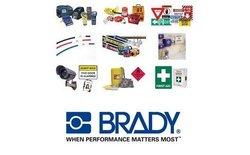"Brady Yellow Key 3"" Shackle Retaining Steel Padlock - Black - Pack of 3"