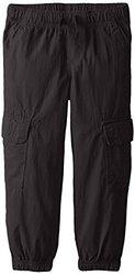 Nautica Little Boys' Pull On Jogger Cargo Pockets - Black - Size: 6