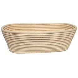 "Sassafras / 11"" Long Rattan Bread Proofing Basket"