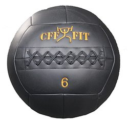 CFF Dual Use Wall Ball/Slam Medicine Balls - Size: 6lbs.