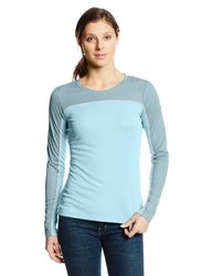 Columbia Women's Sportswear Bug Shield Long Sleeve Shirt - Blue - Size: Medium