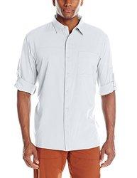 Columbia Men's Insect Blocker II Long-Sleeve Shirt - White - Size: Medium