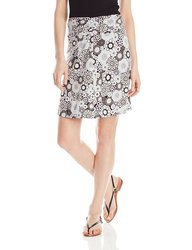 White Sierra Women's Printed Dailey Duty Skirt - Caviar Combo -Size: Small