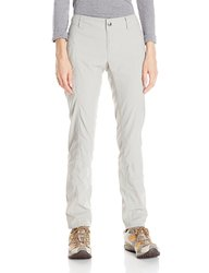 Columbia Women's Bug Shield Cargo Straight Leg Pants - Flint Grey - 6/Long