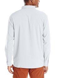 Columbia Men's Insect Blocker II Long Sleeve Shirt - White - Size: XX-L