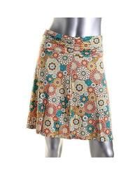 White Sierra Women's Printed Dailey Duty Skirt - Multi Combo - Size: M
