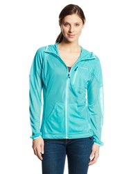 Columbia Women's Insect Blocker Hybrid Mesh Jacket - Geyser - Size: X-Large
