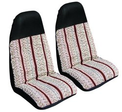 Coverking Wine Luxury Universal Fit Seat Cover - Set of 2