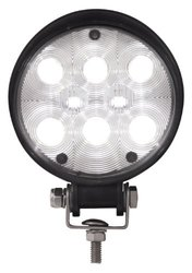 Grand General Round High Intensity 8 LED Work Light - Size: 4.5""