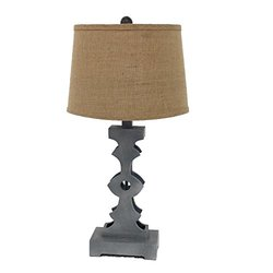 Teton Home TL-008 Wooden Table Lamp