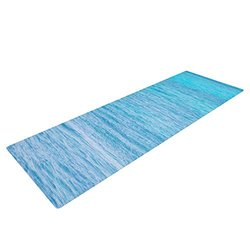 "KESS InHouse Catherine McDonald South Pacific II Exercise Yoga Mat, Ocean Water, 72"" by 24"""