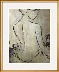 Art Spa Day IV Framed Giclee Print - White