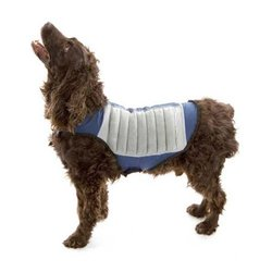 K COOL Dog Cooling Jacket Cool K9 - Blue/Grey - Size: Medium
