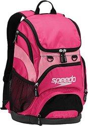 Speedo Medium Teamster Backpack, Fuchsia/Black, 25-Liter