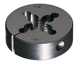 Cle-Line C65027 Carbon Steel Round Adjustable Die, #1-72 UNF