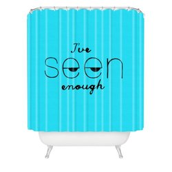 "DENY Designs Nick Nelson Ive Seen Enough 2 Shower Curtain - 69"" x 72"""