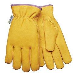 Kinco 98RLW L Women Lined Full Grain Cowhide Leather Glove - Large