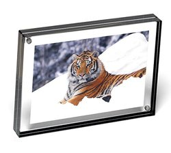 Color Edge Magnet Frame by Canetti-Graphite - 6x8 inch
