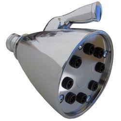 LASCO Large Chrome Plated Speakman Style Shower Head (08-2267)