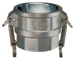 Kuriyama Stainless Steel Part D Coupler - Size: 1-1/2""