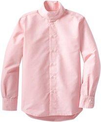 TuffRider Girl's Starter Long Sleeve Show Shirt - Pink - Size: 12