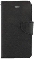 ZTE WARP SYNC N9515 Premium Wallet Flip Credit Card Cover Case - Black