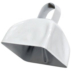 Fun Express White School Cowbells (1 dozen) - Bulk