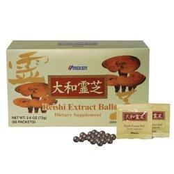 Umeken Reishi Mushroom Extract Balls - Pack of 60