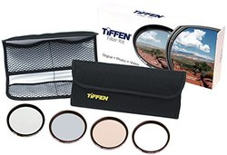 Tiffen 62mm Film Look Digital Video Filter Kit with Waist Pack