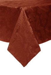 Trendex Home Designs Dunmore 60-Inch by 120-Inch Tablecloth, Spice