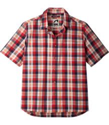 Mountain Khakis Deep Creek Crinkle Shirt - Men's SIREN RED