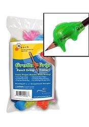 School Specialty Pencil Grotto Grip - Pack of 36 - Assorted Colors