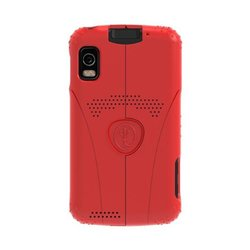 Trident Aegis Protective Case for Motorola Atrix 4G - Retail Packaging - Red