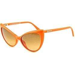 Tom Ford Women's Anastasia Sunglasses - Orange Frames/Brown Gradient Lens