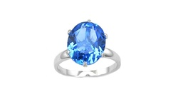 Yedid International Women's 5CTW Oval-Cut Tanzanite Ring - Size: 7